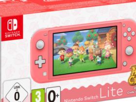 Bundles com Animal Crossing: New Horizons e Switch Lite chegarão à Europa