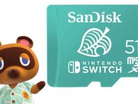 Novo SD de 512GB de Animal Crossing lançado