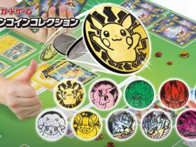Japão: Novas moedas de Pokémon TCG vindo através de máquinas de capsulas