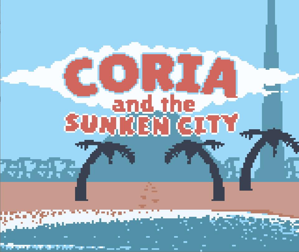 Coria and the Sunken City: novo jogo anunciado para Game Boy