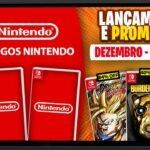 Lançamentos para Nintendo Switch de 30 de Novembro a 6 de Dezembro