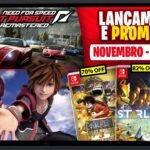 Lançamento Coelho no Japão Novembro Nintendo Switch