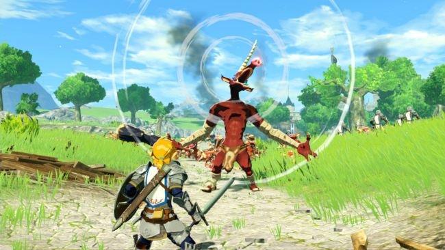 Possível referência de The Legend of Zelda CDI em Hyrule Warriors: Age of Calamity