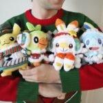Japão: Pelúcias Pokémon de Natal já estão disponíveis para pré-compra