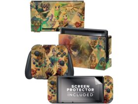 Skins para o Nintendo Switch disponíveis na loja online da Nintendo