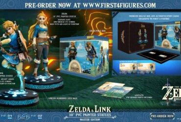 Novos action figures de The Legend of Zelda: Breath of the Wild da First 4 Figures são revelados