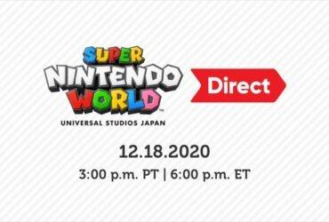 Direct focada no Super Nintendo World acontecerá hoje