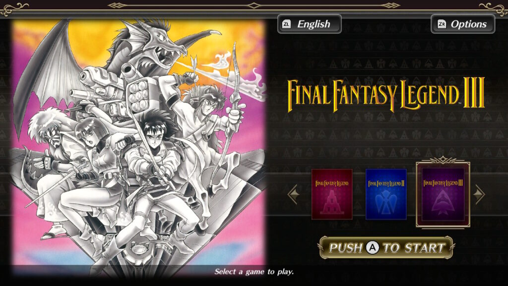 Collection of SaGa: Final Fantasy Legends lançado hoje para o Nintendo Switch