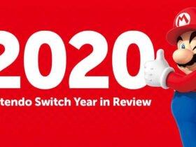 Nintendo libera retrospectiva do ano de 2020