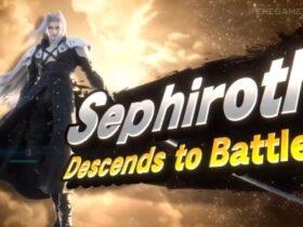Sephiroth de Final Fantasy 7 é o novo lutador DLC de Super Smash Bros. Ultimate