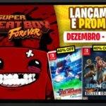 Lançamentos para Nintendo Switch de 21 a 27 de Dezembro