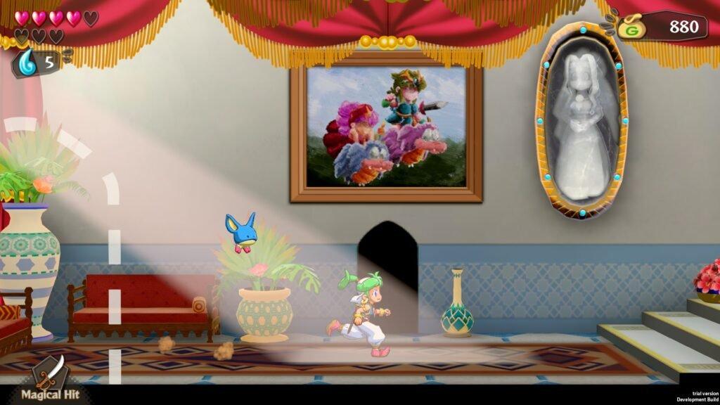 Wonder Boy: Asha in Monster World ganha versão física para o Nintendo Switch