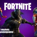 Pantera Negra, Capitã Marvel e Treinador se juntam à Fortnite