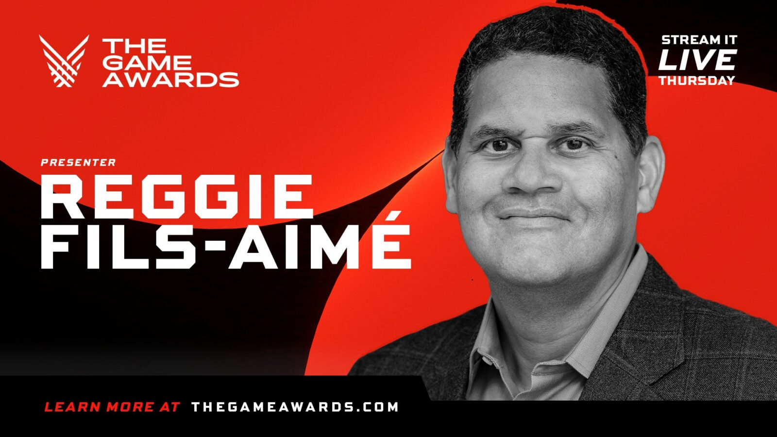 Reggie Fils-Aime será apresentador no The Game Awards 2020
