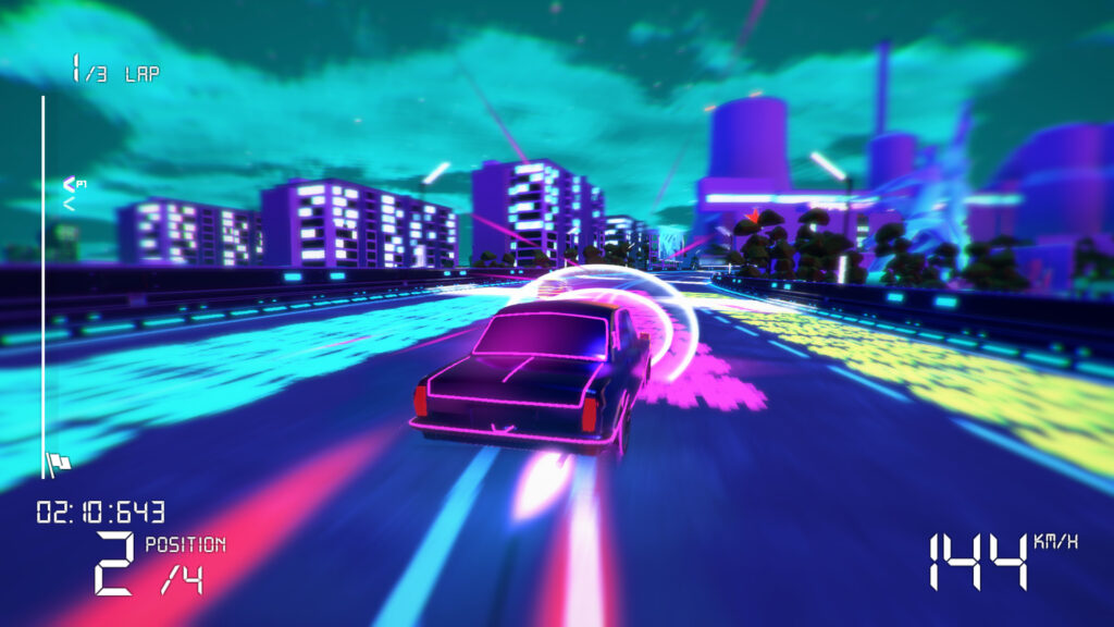 Electro Ride: The Neon Racing -Corridas noturnas no Leste Europeu