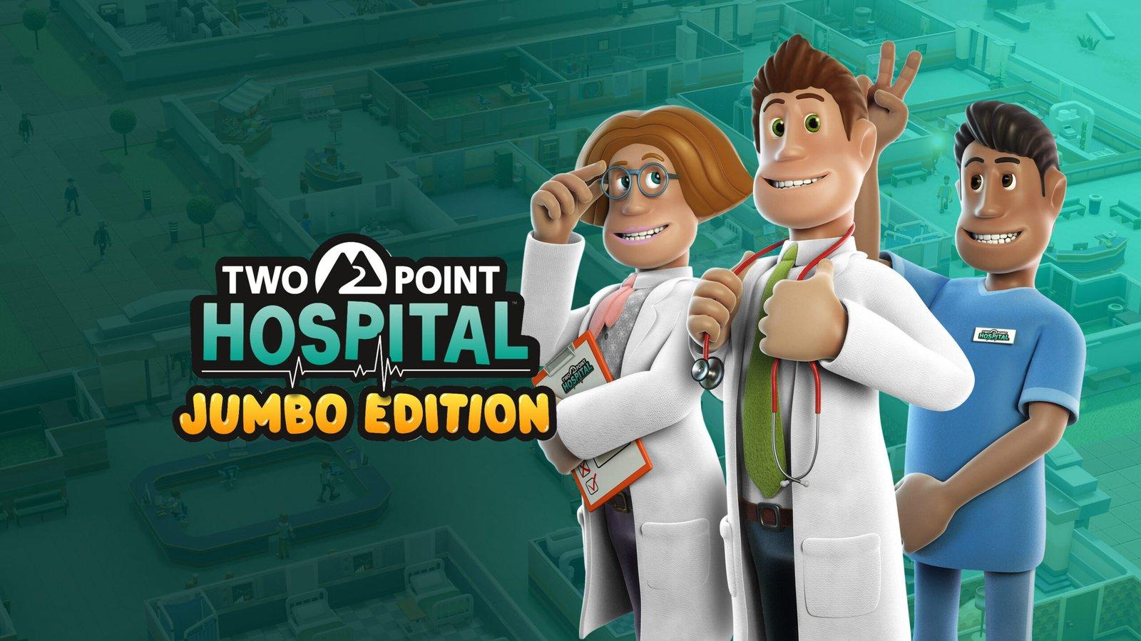 Two Point Hospital: JUMBO Edition chega em Março com muito conteúdo e tradução em Português