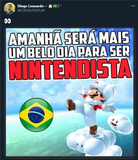 [Rumor - Confirmado] Haverá grande anúncio da Nintendo no Brasil amanhã