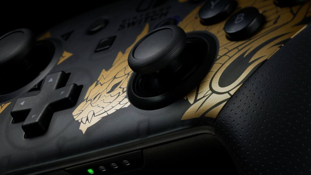 Bundle Nintendo Switch Monster Hunter Rise e Pro Controller confirmados para Europa e Austrália