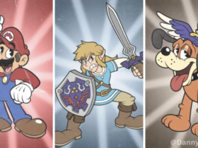 Fã reimagina personagens de Super Smash Bros. Ultimate no estilo de Cuphead