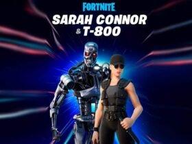 Sarah Connor e o Exterminador do Futuro T-800 juntam-se a Fortnite