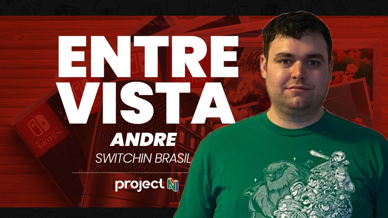 [Entrevista] André do Switchin Brasil falando sobre sua coleção de jogos para o switch, seu canal no YouTube e mais