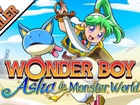 Wonder Boy: Asha in Monster World ganha novo trailer de gameplay
