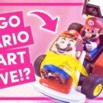 Fã une LEGO Super Mario e Mario Kart Live: Home Circuit em um super brinquedo