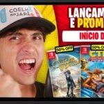 Lançamentos para Nintendo Switch de 4 a 17 de Janeiro