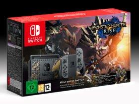 Bundle Nintendo Switch Monster Hunter Rise e Pro Controller confirmados para Europa e Austrália
