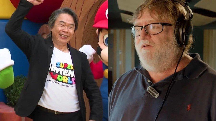 Líder da Valve diz que jogos de Miyamoto o tornaram um melhor desenvolvedor