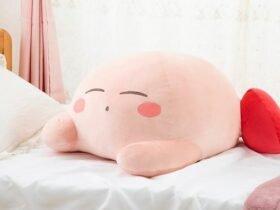 Japão: Loja online da Bandai lança pelúcia de Kirby com aquecimento pela terceira vez