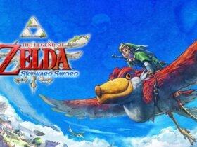 Nintendo mostra a arte da capa de Skyward Sword HD para o Switch