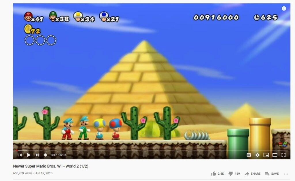 Super Nintendo World talvez tenha um design de cactos baseado em um fan-mod de New Super Mario Bros. Wii