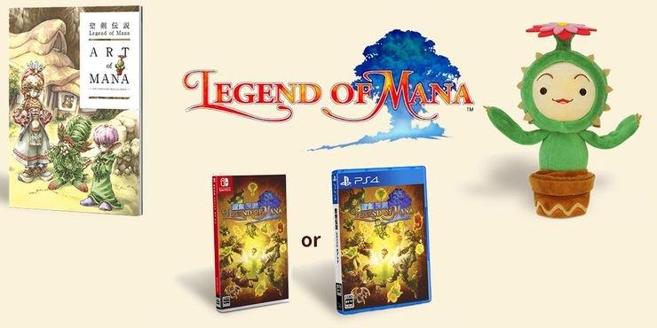 Edição especial física de Legend of Mana será lançada exclusivamente no Japão