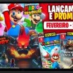 Lançamentos para Nintendo Switch de 8 a 14 de Fevereiro
