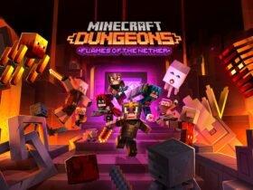Flames of the Nether: DLC de Minecraft Dungeons chega ainda em Fevereiro