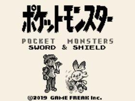 Fã reimagina Pokémon Sword & Shield como um título de Game Boy