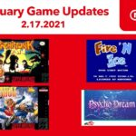 Novos títulos de SNES e NES para o Nintendo Switch Online em Fevereiro