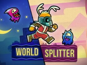 World-Splitter: plataforma e puzzle chega ao Switch em 2021