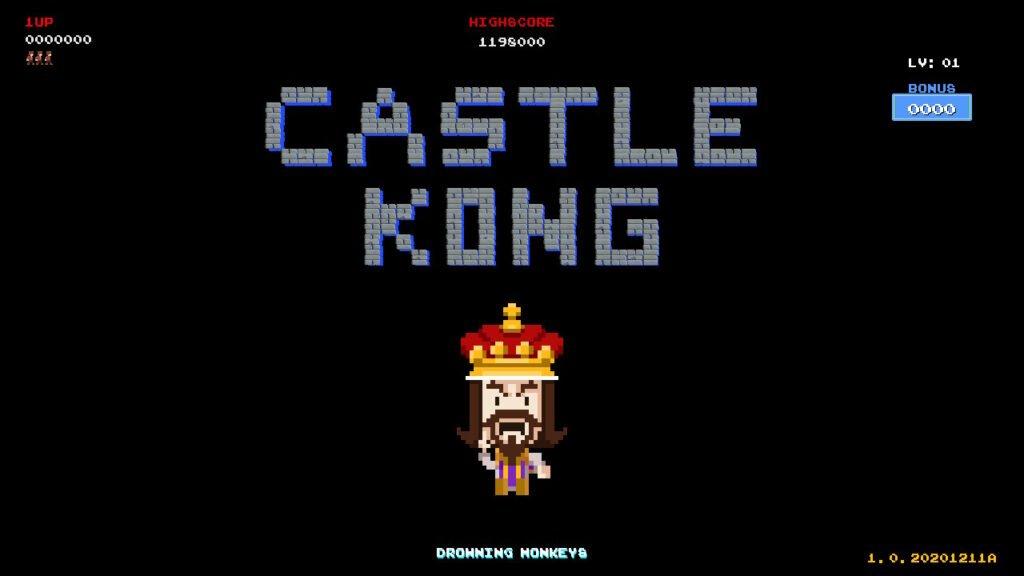 Castle Kong - um arcade clássico, tanto no lado bom quanto no ruim