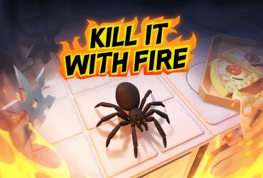 Kill It With Fire - Se você tem aracnofobia, não jogue!