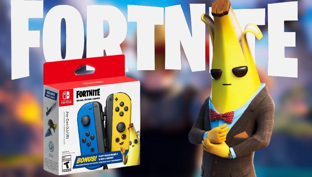 Nintendo revela par de Joy-Con exclusivo de Fortnite