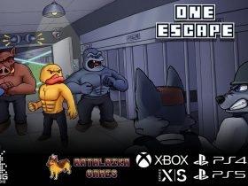 One Escape: plataforma furtiva com animais chega ao Switch em Março