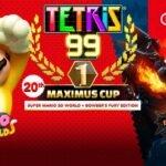 Ganhe um tema especial de Super Mario Bowser's Fury na Maximus Cup em Tetris 99
