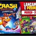 Lançamentos para Nintendo Switch de 8a 14 de Março