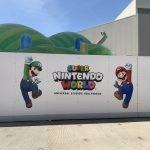 Novo Super Nintendo World nos EUA começa a ser construído