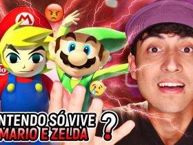 """RESPONDE NINTENDO #7 - Desmentindo """"Nintendo só vive de reciclar jogos antigos"""" e mais pérolas haters"""