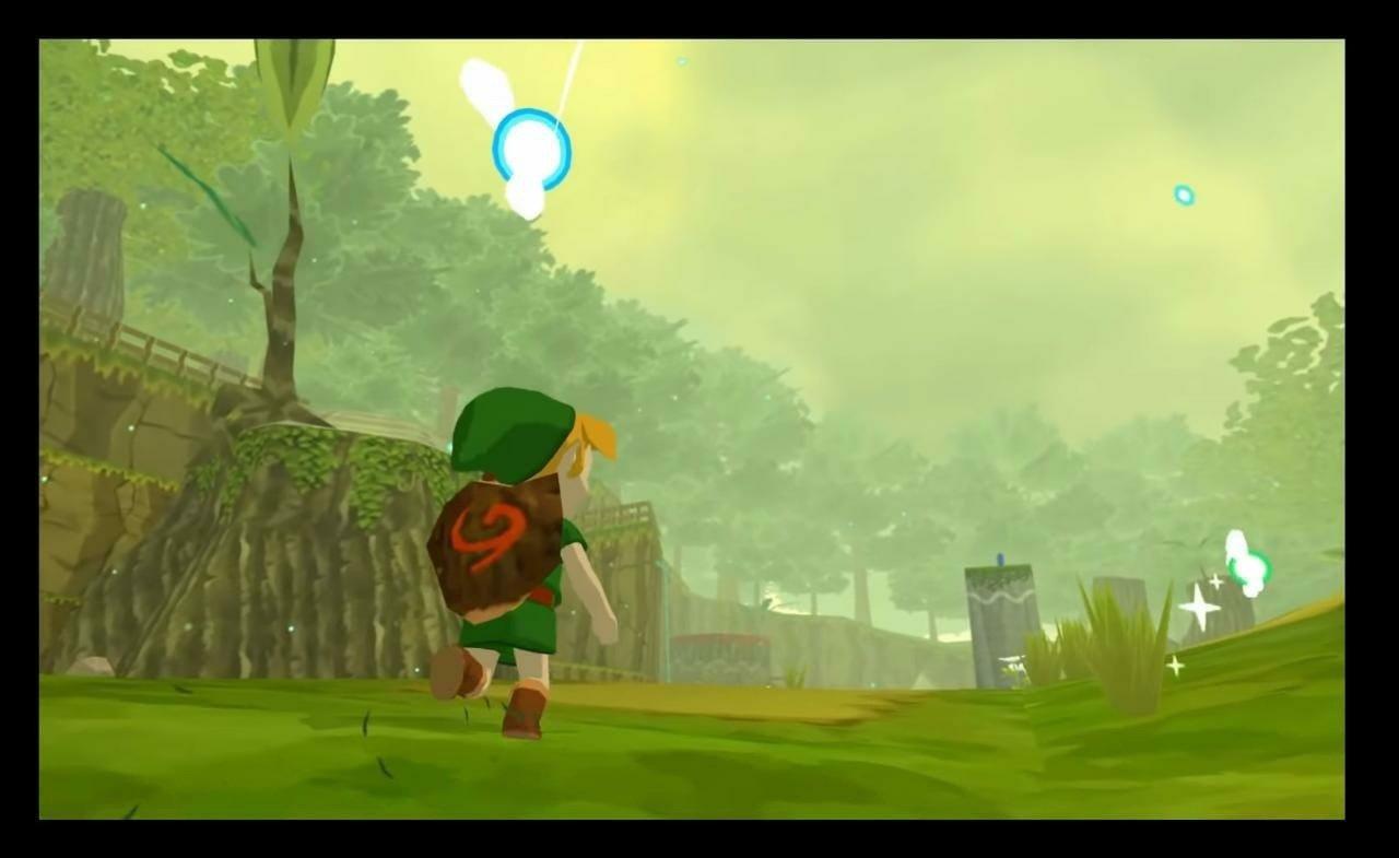 Fã recria The Legend of Zelda: Ocarina of Time com gráficos de Wind Waker