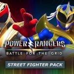 Ryu e Chun-Li se tornam Power Rangers em novo pack de Power Rangers: Battle for the Grid