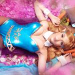 Cosplayer Mary Nikky cria versão de páscoa da princesa Zelda